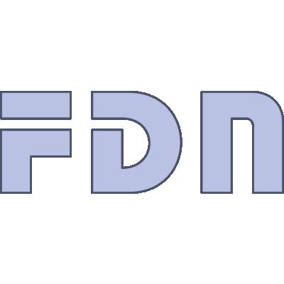 Logo de FDN